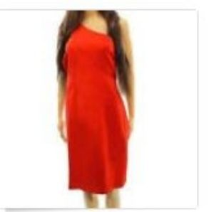Ralph Lauren Dress Red sexy 12 NWT Party Christmas